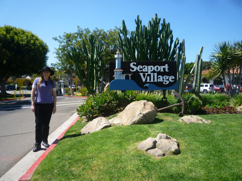 Seaport Village está localizado ao lado do San Diego Convention Center, o Hyatt e o Marriott Hotel & Marina. Os visitantes terão muito que ver e fazer no Seaport Village. Cada restaurante tem uma bela vista da baía e quatro quilômetros de calçadas ajudam os comensais a ficarem em forma depois das suas refeições.