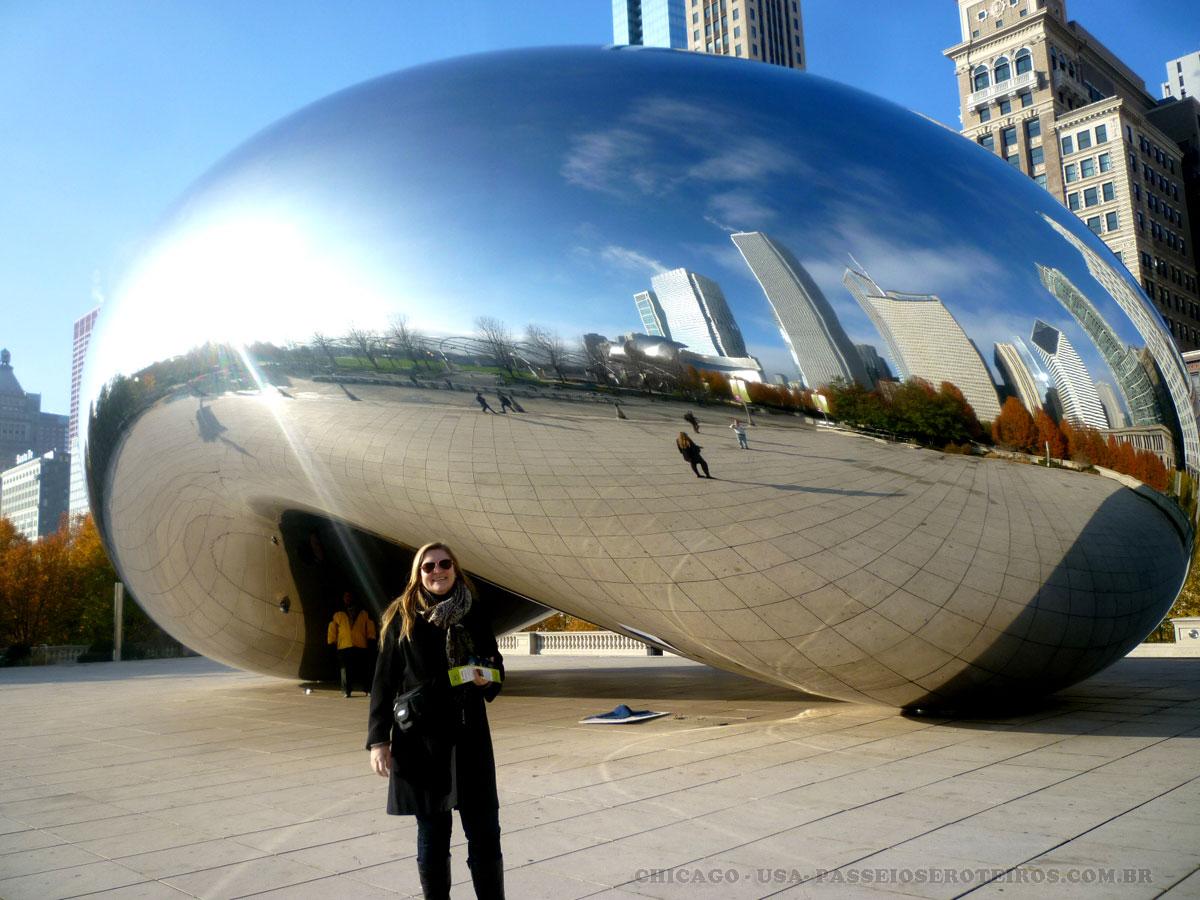Aberto em 2004, o Millennium Park tem, entre seus destaques, a Crowne Fountain, do barcelonês Jaume Plensa . Millennium Park – É a mais recente atração de Chicago. O parque tem um pavilhão de música com design do badalado Frank Gehry, esculturas modernas e muitos espaços para lazer