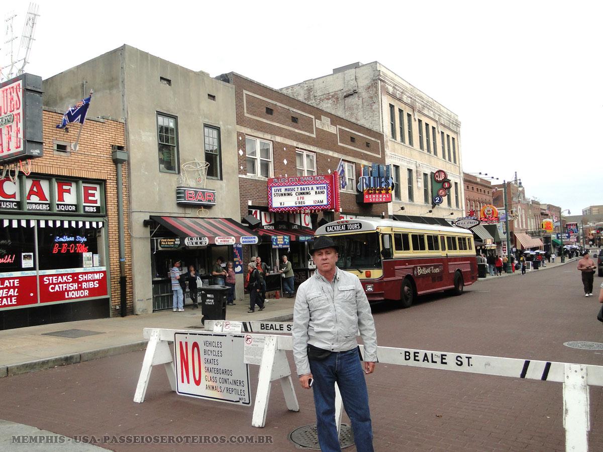 Beale Street é uma rua no centro de Memphis. É um lugar significativo na história da cidade, bem como na história do Blues . Hoje, os clubes de blues e restaurantes localizados na Beale Street são os principais atrações turísticas em Memphis.